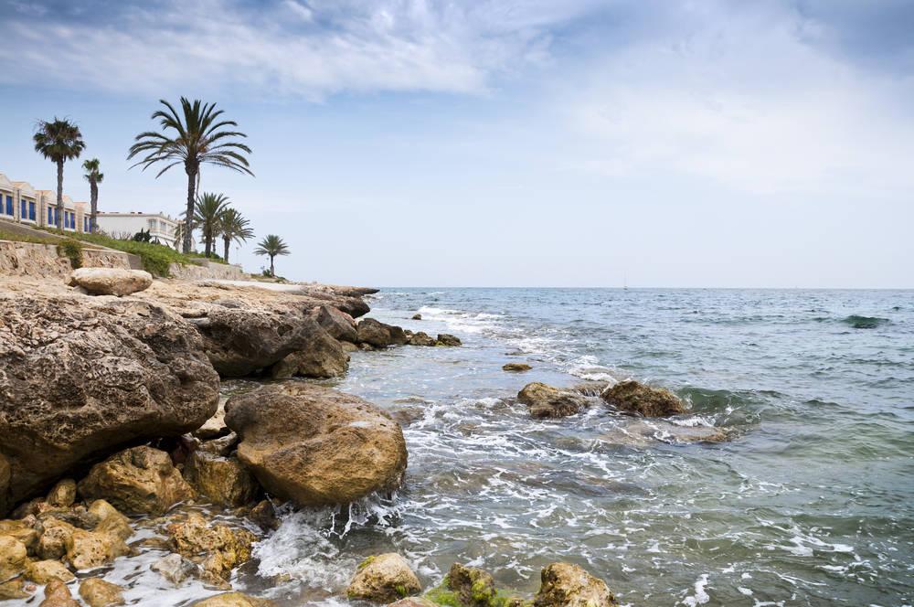 Santa Pola, las playas más azules