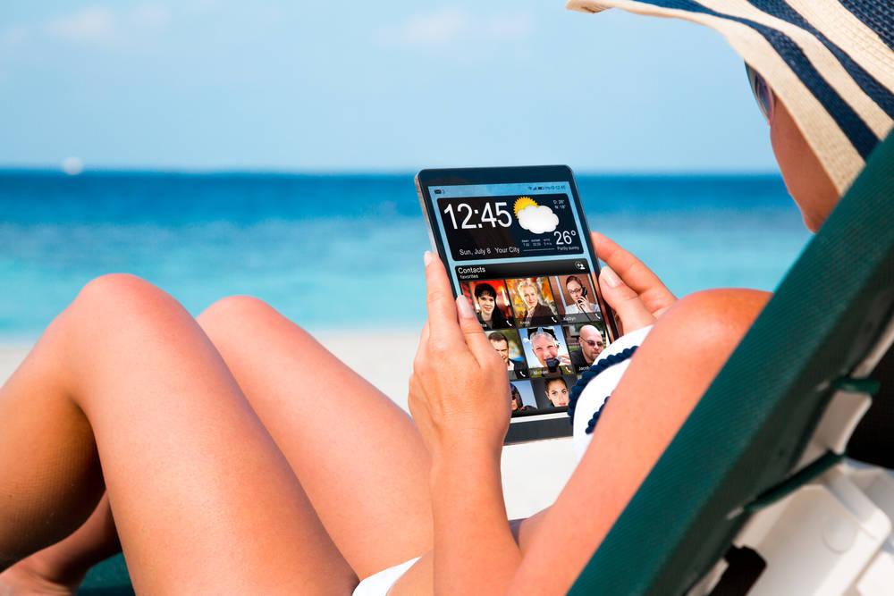 Cómo reservan los españoles las vacaciones a través de los dispositivos móviles