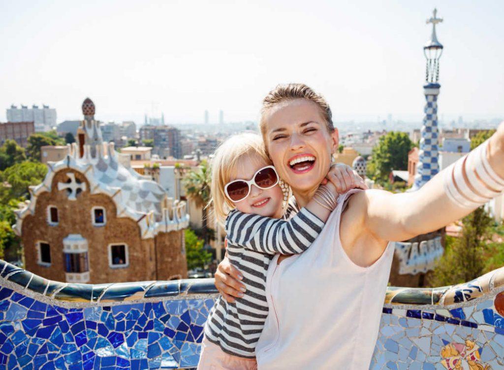 Disfruta de la ciudad de Barcelona en compañía de la familia
